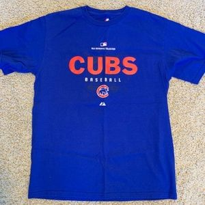 Kids Majestic XL Blue Chicago Cubs Tshirt